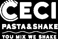 Ceci Pasta and Shake